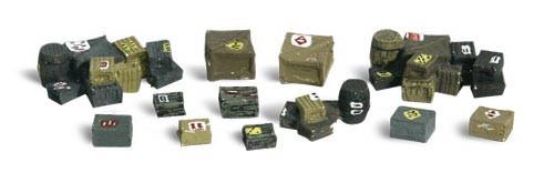 Woodland Scenics HO A1855 Assorted Crates