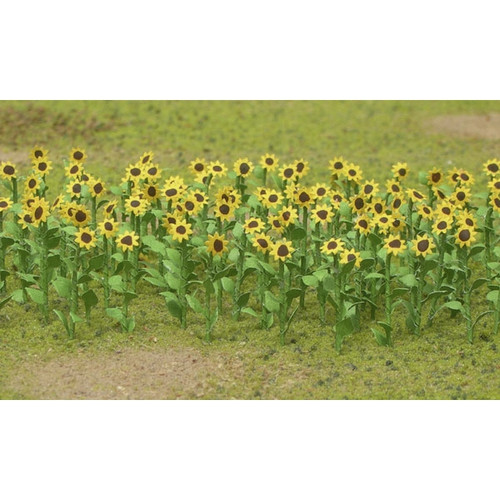 "JTT Scenery Products HO 95523 (BU-1023) 1"" Sunflowers (16 pack)"