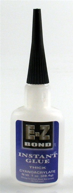 E-Z Bond Instant Glue Thick 1 oz.