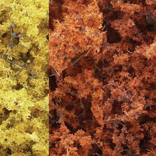 Woodland Scenics F1135 Fine Leaf Foliage, Fall Mix