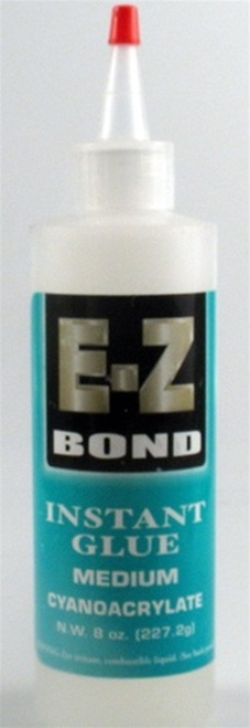 E-Z Bond Instant Glue Medium 8 oz.