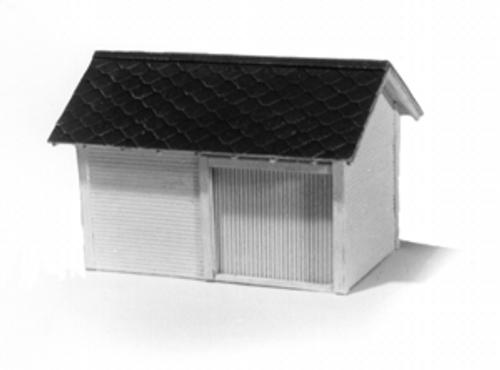 American Model Builders HO 114 Laser-Cut Wood Kit, Portable Tool and Handcar House