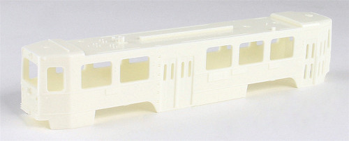 Imperial Hobby Productions HO 8700 Kawasaki Single-End LRV Unpowered Trolley Kit, Undecorated