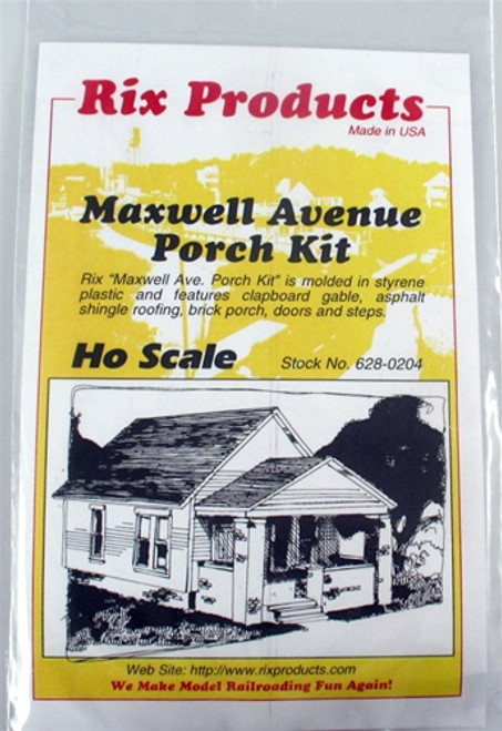 Rix Products HO 628-0204 Maxwell Avenue Porch Kit