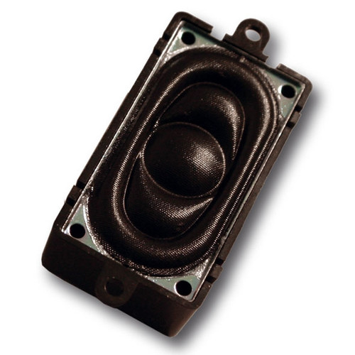 ESU 50334 Loudspeaker 20mm x 40mm, square, 4 ohms, with sound chamber