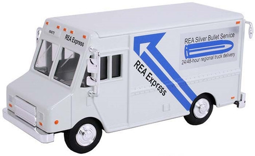 American Heritage Models O 48003 Delivery Step Van, REA Express White (1:48)
