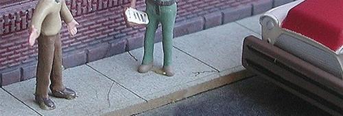 Bar Mills Scale Model Works N 0681 Sidewalk Kit (400 scale feet)