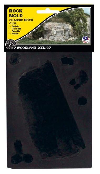 Woodland Scenics C1236 Classic Rock Mold