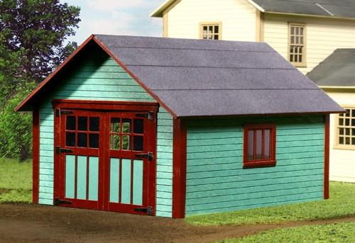 American model builders o 469 single car garage kit for American garage builders