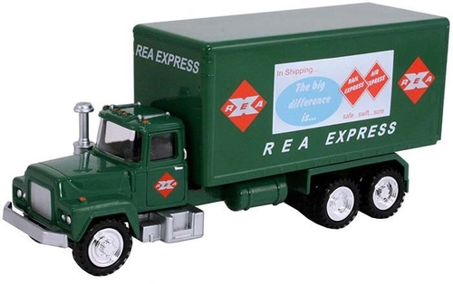 American Heritage Models O 50011 Delivery Truck, REA Express Green (1:50)