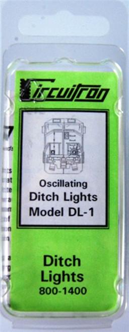 Circuitron 800-1400 DL-1 Oscillating Ditch Lights