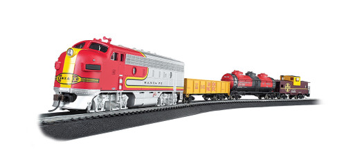 Bachmann HO 00740 Canyon Chief Train Set