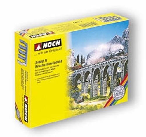 Noch N 34860 Quarrystone Viaduct Set