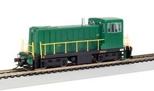 Bachmann HO 60608 GE 70-Ton Switcher, Green/Unlettered (DCC Equipped)