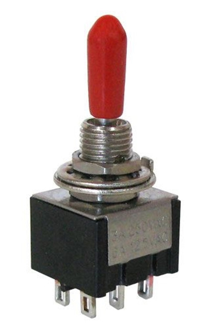 A.E. Corporation MTS-93 DPDT Center-Off Momentary Mini-Toggle Switch