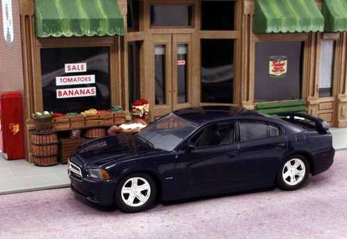 American Heritage Models O 43-752 2012 Dodge Charger R/T, Jazz Blue (1:43)