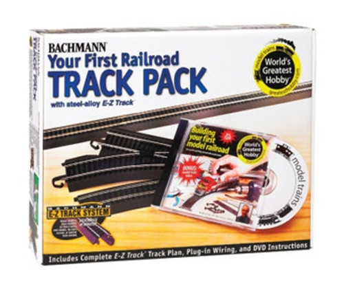 Bachmann HO 44497 Your First Railroad Track Pack(Steel)