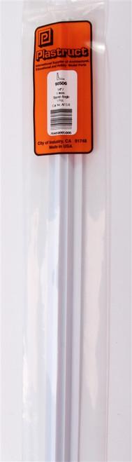 "Plastruct 90506 AFS-8 Fineline Angle, 1/4"" (5)"