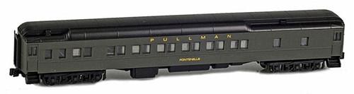 """American Z Line Z 71018-6 12-1 Pullman Sleeper, Pullman (Green) """"Fontenelle"""""""