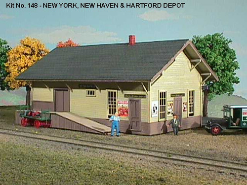 American Model Builders HO 148 New Haven Depot Kit