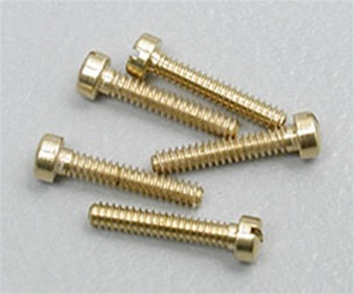 "Hob-Bits H822 Fillister Head Screws Size: 00-90 Length: 1/4"" (5-Pack)"