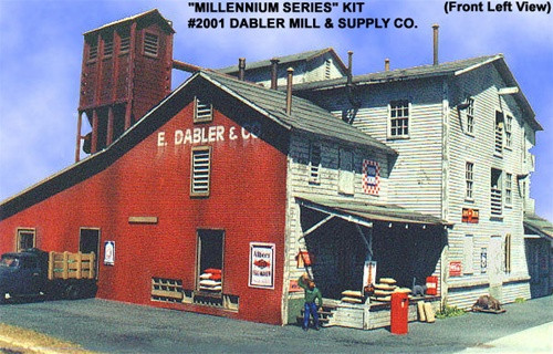 American Model Builders HO 2001 LASERKit Millennium Series, Dabler Mill and Supply Co.