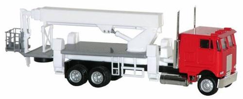 Herpa HO 006458 Peterbilt Coe Boom Truck with Picker