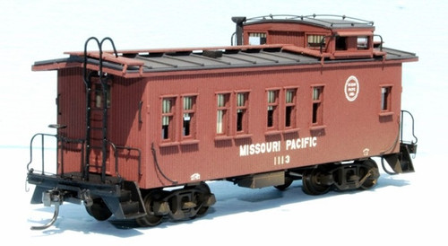 American Model Builders HO 883 Missouri Pacific Drover Caboose Kit