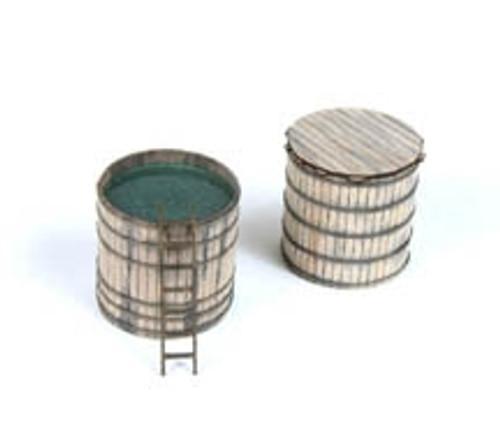 American Model Builders HO 390 Real Wood Storage Vats