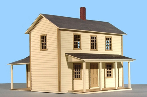 American Model Builders O 486 Two Story House, Kit