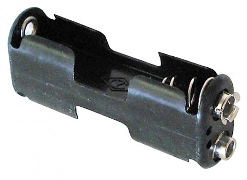 A.E. Corporation BH-321 Battery Holder for 2 AA Cells, with snaps