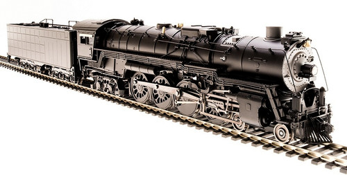 Broadway Limited Imports HO 4598 4-8-4 Northern, Unlettered (Equipped with Paragon3 Sound/DC/DCC and Smoke)