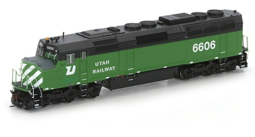 Athearn Genesis HO G25316 F45, Utah Railway #6606 (DCC and Sound Equipped)