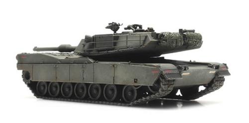 Artitec HO 6870138 US M1 Abrams Tank, Train Load Green