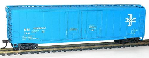 Accurail HO 5416 50' Double Plug Door Box Car Kit, Boston and Maine #106