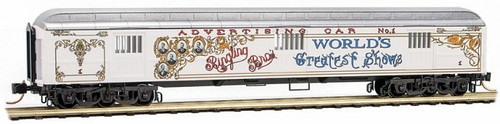 Micro-Trains N 14900200 70' Heavyweight Horse Car, Ringling Bros. and Barnum and Bailey