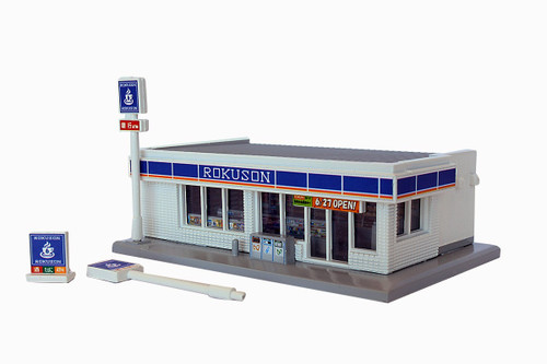 Rokuhan Z S049-2 Convenience Store, White