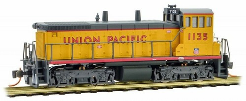 Micro-Trains N 98600571 SW1500 Diesel Switcher Locomotive, Union Pacific #1135