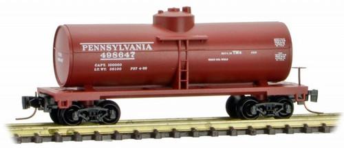Micro-Trains Z 53000481 39' Single Dome Tank Car, Pennsylvania Railroad #498647