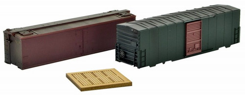 Micro-Trains Z 79943958 Weathered Box Car Shell Loads (2-Pack)