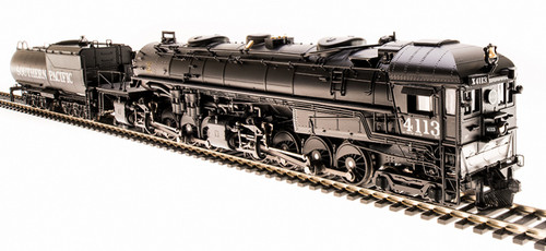 Broadway Limited Imports HO 5188 Cab Forward 4-8-8-2 AC-5 with Black Boiler, Southern Pacific #4110 (Equipped with Paragon3 Sound/DC/DCC)