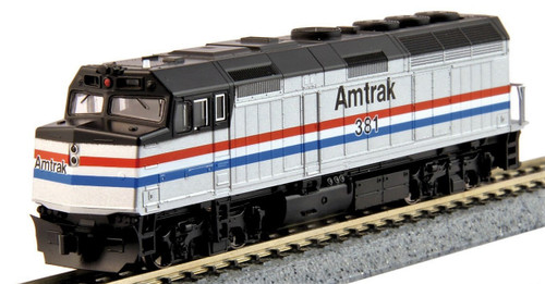 Kato N 1766107-DCC EMD F40PH, Amtrak (Phase III) #381 (DCC Equipped)