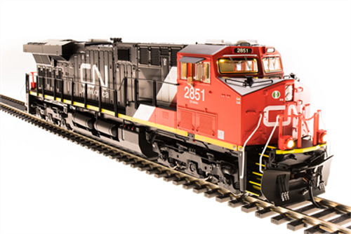 Broadway Limited Imports HO 5478 GE ES44AC, Canadian National #2833 (Paragon3 Sound/DC/DCC Equipped)