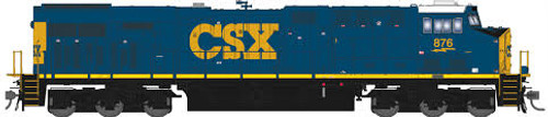 Broadway Limited Imports HO 5482 GE ES44AC, CSX #853 (Paragon3 Sound/DC/DCC Equipped)