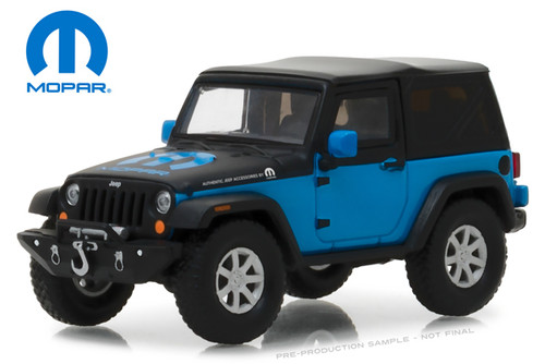 """Greenlight Collectibles O 86092 2010 Jeep Wrangler Concept, """"The General"""" (1:43)"""