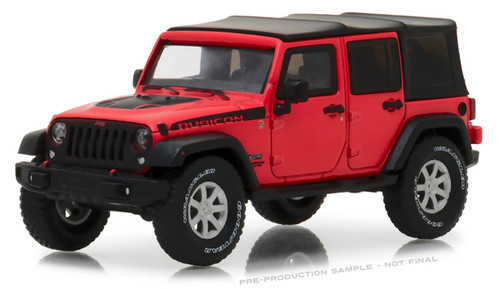 Greenlight Collectibles O 86093 2017 Jeep Wrangler Unlimited, Rubicon Recon (1:43)