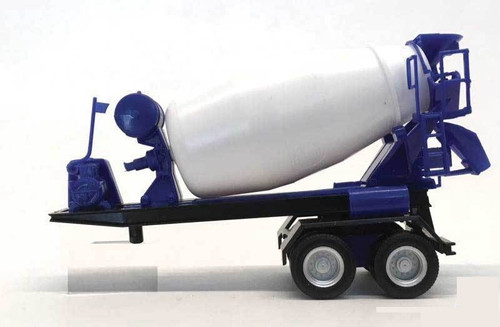Herpa HO 005492 Two-Axle Cement Trailer (Colors May Vary)