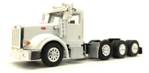 Herpa HO 006574 Peterbilt 379 Tractor with Tag Axle (White)