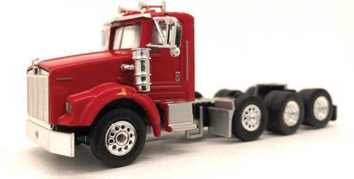 Herpa HO 006575 Kenworth T800 Tractor with Tag Axle (Red)