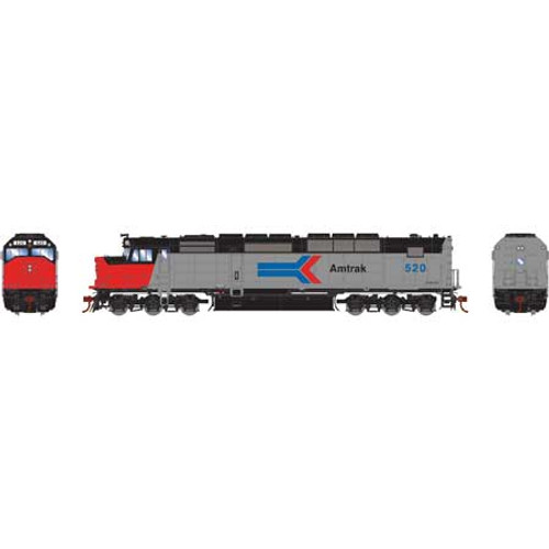 Athearn Genesis HO G63926 SDP40F, Amtrak #520